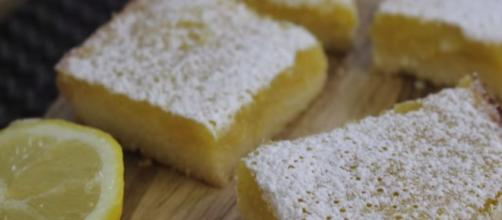 Super simple lemon bars recipe - Image credit - Amina is Cooking | YouTube