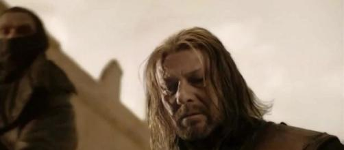 Ned Stark, interpretado por Sean Bean
