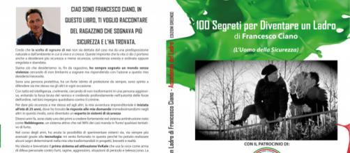 """""""100 Segreti per diventare un ladro"""" di Francesco Ciano."""