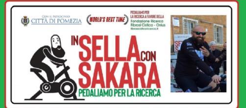 Fabio Sakara ha stabilito il nuovo record mondiale su BikeErg: 24 ore no-stop (circa 560 km). Raccolti fondi per la ricerca sulla Fibrosi Cistica
