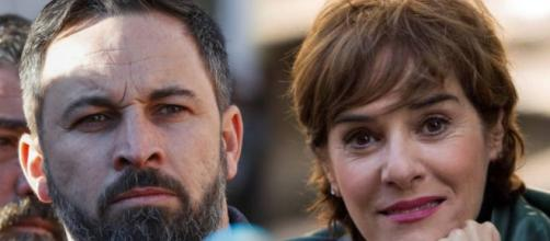Santiago Abascal y Anabel Alonso