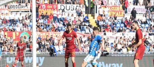 Serie A, Roma-Napoli 1-4, Mertens: 'Voglio continuare a fare gol'