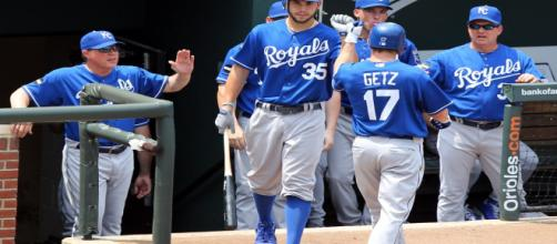 The Kansas City Royals had a good opening weekend. [Source: Wikimedia Commons]