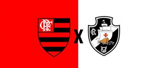Vasco x Flamengo ao vivo (Foto: Montagem/ Diogo Marcondes)