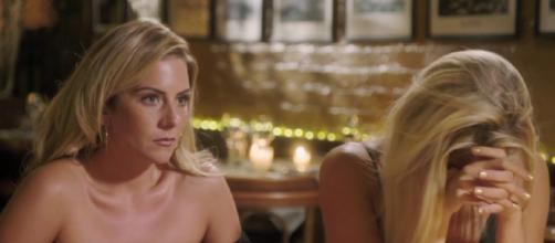 Alex has a tough decision to makeon double date with Reanne and Lilly (Image Credit:The Bachelor UK/Channel5)