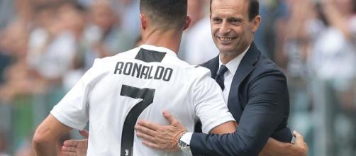 Allegri e Ronaldo, i due fari della Juventus 2018/19.