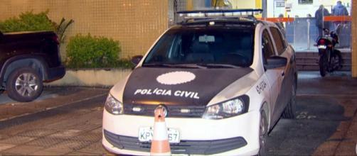 Duas pessoas morreram no tiroteio. (Foto: Reprodução/TV Globo)