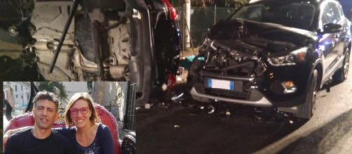 Gianluca Carotti, 47 anni, ed Elisa Del Vicario, 40 anni, sono morti nell'incidente provocato da Marouane Farah alla guida ubriaco e drogato.