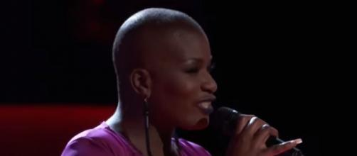 Janice Freeman of The Voice3, 2017. Remembering the young mother aged 33 who died from a clood clot - Image credit - The Voice | YouTube