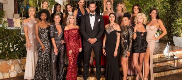 17 single ladies dress to impress Bachelor; Alex Marks, 31 as they fight to find love. (Image credit: The Bachelor UK/Twitter)