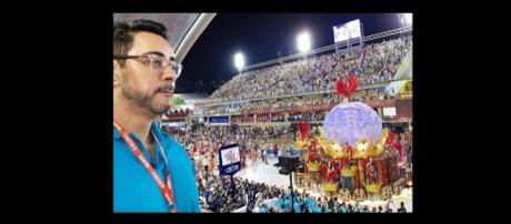 Juiz marcelo Bretas curte carnaval no Rio - @mcbretas no Instagram