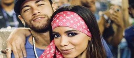 Neymar e Anitta no Carnaval (Foto: Reprodução/ Instagram)
