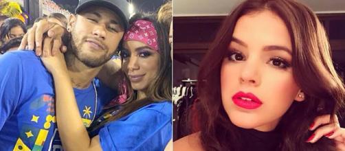Anitta e Neymar causaram polêmica após curtirem carnaval no mesmo camarote que esteve Marquezine. (Foto: Reprodução/Instagram)