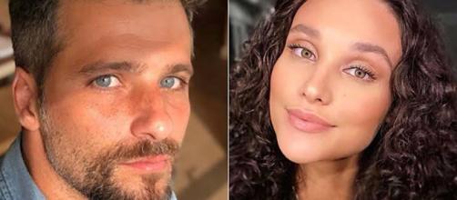 Ator acabou não agradando alguns internautas nas redes sociais de Débora Nascimento. (Foto: Reprodução/ Instagram)