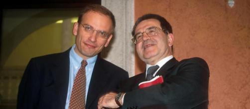Enrico Letta e Romano Prodi in una immagine scattata qualche anno fa
