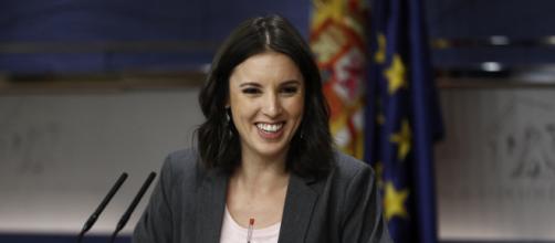 Irene Montero afirma que una ocupará el lugar de Pablo Iglesias en Podemos