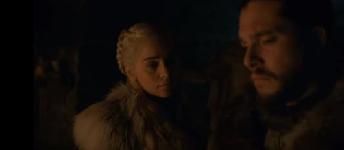 Jon Snow and Daenerys Targaryen are the main characters of the show. Photo: screencap via GameofThrones/ YouTube