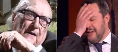 Lo scrittore Camilleri attacca Salvini