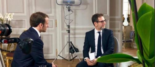 polemiche furiose dopo l'intervista di Fabio Fazio a Macron
