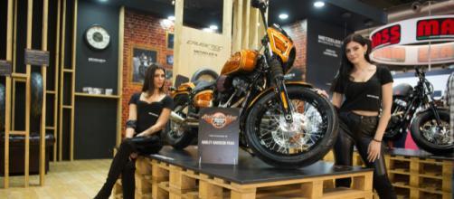 "Softail Street Bob ""La Jolla"" di Max Pezzali by Harley-Davidson ... - quotidianomotori.com"