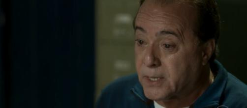 Tony Ramos interpreta o personagem Olavo em 'O Sétimo Guardião' (Imagem: Reprodução/ Rede Globo)