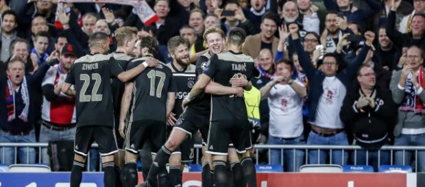 Risultati immagini per Champions League: Real Madrid - Ajax 1-4