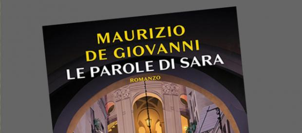 Cover di 'Le parole di Sara', romanzo di Maurizio De Giovanni.