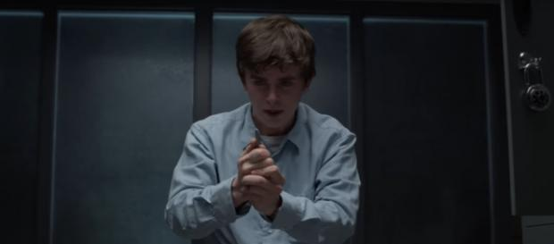 Dr. Murphy (Freddie Highmore) demands to stay a surgeon and comes to his breaking point on The Good Doctor. [Image source:ABC-YouTube]