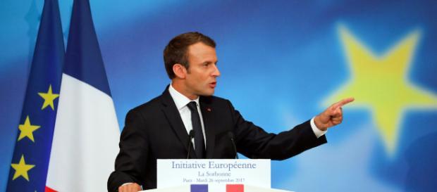 Le Président Macron souhaite refonder l'Union européenne grâce à la liberté, le progrès et la protection des Etats et des citoyens européens
