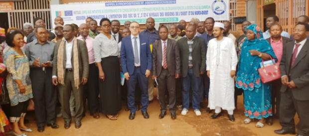 Lors d'un séminaire organisé par Procivis à l'Ouest Cameroun en 2019 (c) Procivis