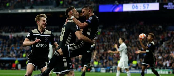 LDC : l'Ajax corrige et élimine le Real Madrid, triple tenant du titre