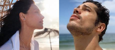 Jose Loreto e Debora Nascimento (Foto: Reprodução/ Instagram)