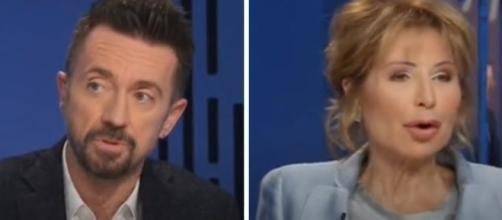 Andrea Scanzi e Lilli Gruber hanno opinioni diverse sulla similitudine Minniti-Salvini