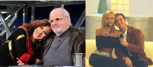 Eliana e Luciano Huck (Reprodução/Instagram) Claudia Raia e Jô Soares (Reprodução/Instagram)