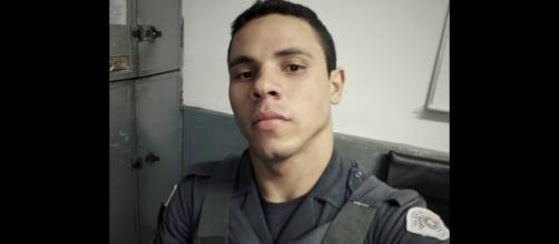 Policial militar estava internado sob escolta. (Foto: Reprodução/Facebook)