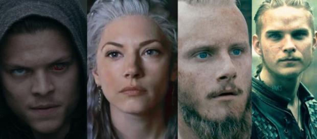 Ivar, Lagertha, Bjorn e Hvitserk (Reprodução/History Channel)