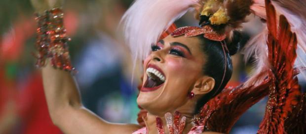 Juliana Paes foi um dos destaques do Carnaval 2019. (Imagem: Reprodução/ Instagram)