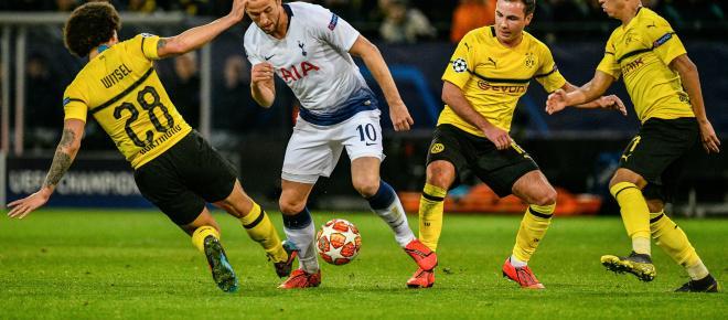 LDC : Tottenham écarte Dortmund et rejoint les quarts de finale