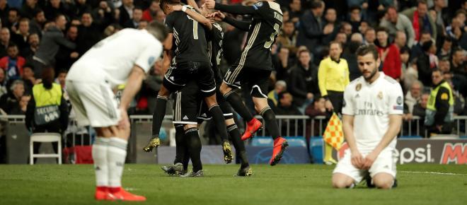 Ligue des Champions : l'Ajax élimine le Real Madrid et file en quart de finale