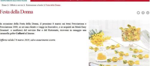 Caramella al limone Trenitalia