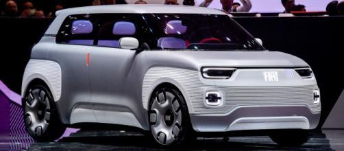 Fiat Centoventi, il prototipo esposto al Salone di Ginevra  Automobile ... - automobilemag.com