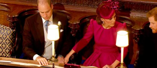 Kate Middleton e William mano nella mano in una immagine di qualche mese fa