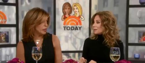 Kathie Lee Gifford is celebrating dear friends and springing surprise lunches in last weeks on Today. [Image source: TODAY-YouTube]