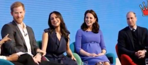 Royal Family takes steps to curb online vitriol aimed at Megan Markle. [Image Source: DIshing Royal Tea-YouTub]