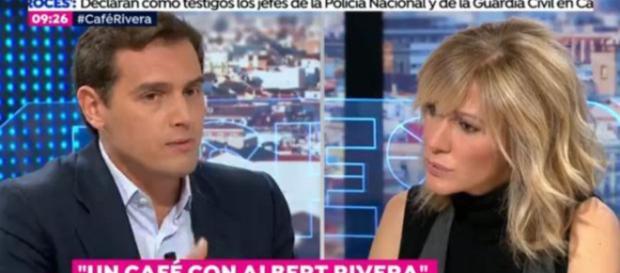 Albert Rivera y Susanna Griso en imagen