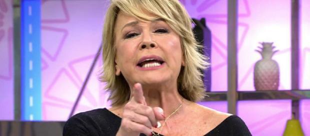 Mila Ximénez se enfrenta a Gil Silgado en 'Sálvame'. / Telecinco