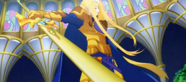 Sword Art Online: Alicization Episode 21: New arc will begin as Eugeo battles Quinella. Image credit:TProRaptor/YouTube screenshot