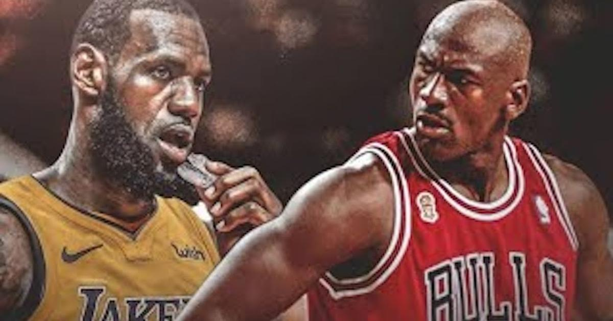 32fb0ee66f2e MJ makes statement to LeBron for passing him on NBA s all-time scoring list