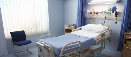 Fotografía de archivo de un hospital