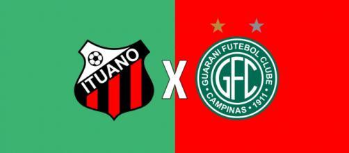 Ituano x Guarani: ao vivo (Montagem: Diogo Marcondes/Central de Notícias)